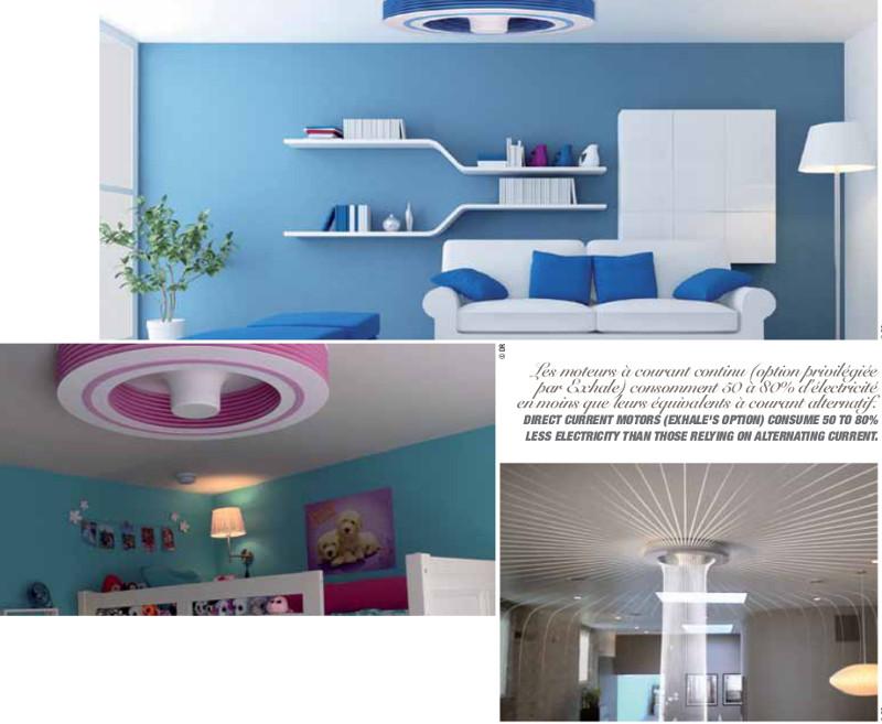 Climatisation ou ventilateur exhale de plafond