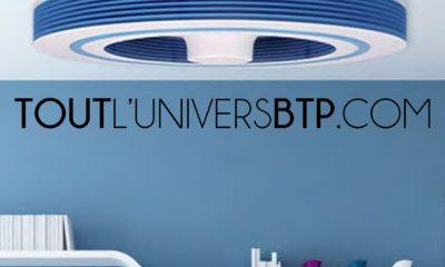 Exhale le ventilateur de plafond sans Pâles – Tout l'Univers BTP