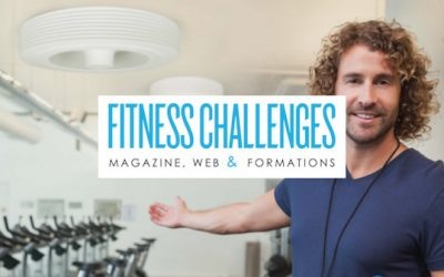 Exhale le premier ventilateur de plafond sans pales pour les salles de fitness – Fitness Challenges