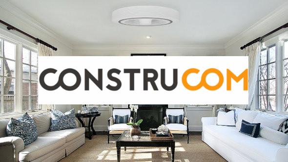 a la d couverte d 39 exhale le ventilateur de plafond sans pale construcom. Black Bedroom Furniture Sets. Home Design Ideas