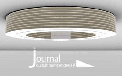Ventilation, Exhale fait respirer les espaces fréquentés – JDB