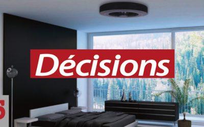 Renouveler l'air – Decisions