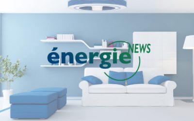 Ventilateur de plafond sans pales Exhale – Energie NEWS